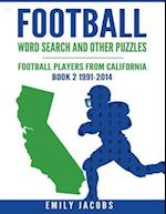 Football Word Search & Other Puzzles - Book 2