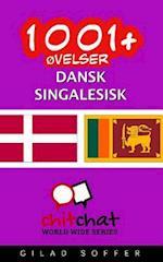 1001+ Ovelser Dansk - Singalesisk