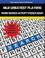 Mlb Greatest Players Word Search Activity Puzzle Book