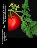 Descriptions of American Varieties of Tomatoes af Us Dept of Agriculture