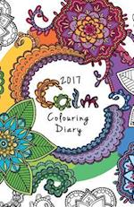 2017 Calm Colouring Diary