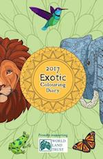2017 Exotic Colouring Diary
