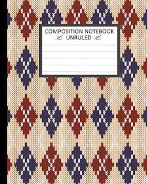 Unruled Composition Notebook af Ts Publishing