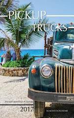 Pickup Trucks Pocket Monthly Planner 2017