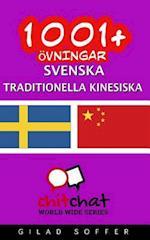 1001+ Ovningar Svenska - Traditionella Kinesiska