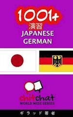 1001+ Exercises Japanese - German