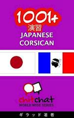 1001+ Exercises Japanese - Corsican