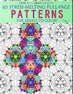 Stress-Melting Full-Page Patterns - Volume 1