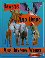 Beasts and Birds and Rhyming Words