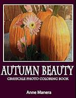 Autumn Beauty Grayscale Photo Coloring Book