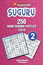 Suguru - 250 Hard Suguru Puzzles 12x10 (Volume 2)