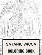 Satanic Wicca Coloring Book
