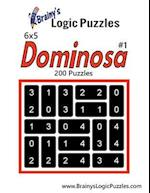 Brainy's Logic Puzzles 6x5 Dominosa #1