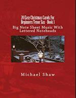 20 Easy Christmas Carols for Beginners Tenor Sax - Book 1
