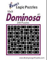 Brainy's Logic Puzzles 10x9 Dominosa #1