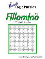 Brainy's Logic Puzzles 10x10 Fillomino #1