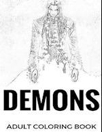 Demons Adult Coloring Book