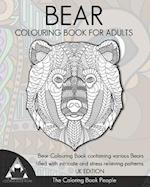 Bear Colouring Book for Adults