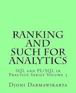 Ranking and Such for Analytics