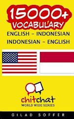 15000+ English - Indonesian Indonesian - English Vocabulary
