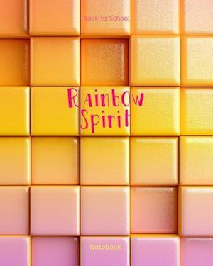 Bog, paperback Back to School Rainbow Spirit Notebook af School Notebook