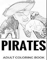 Pirates Adult Coloring Book