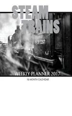Steam Trains Weekly Planner 2017