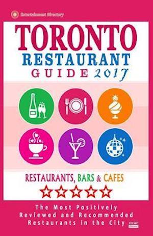 Bog, paperback Toronto Restaurant Guide 2017 af Avram F. Davidson