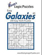 Brainy's Logic Puzzles Easy Galaxies 15x15 #1