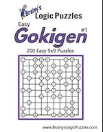 Brainy's Logic Puzzles Easy Gokigen #1