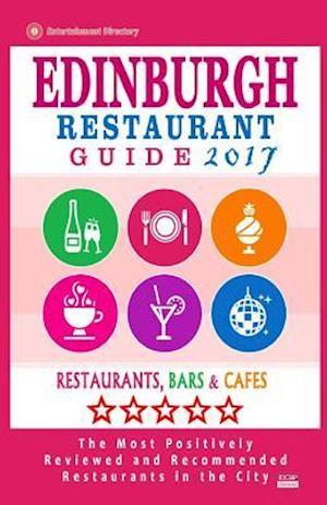 Bog, paperback Edinburgh Restaurant Guide 2017 af David B. Connolly