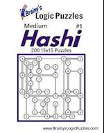 Brainy's Logic Puzzles Medium Hashi #1