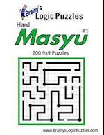 Brainy's Logic Puzzles Hard Masyu #1