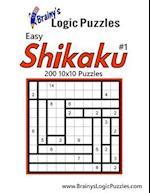 Brainy's Logic Puzzles Easy Shikaku #1