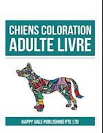 Chiens Coloration Adulte Livre
