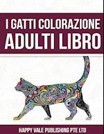 I Gatti Colorazione Adulti Libro