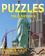 Puzzles for Alzheimer's