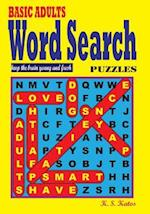Basic Adults Word Search Puzzles
