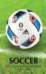 Soccer Pocket Monthly Planner 2017