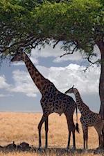 Giraffes Under a Tree Journal