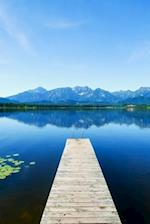 View from a Pier on an Alpine Lake Journal