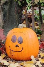 Pumpkin Face Autumn Journal