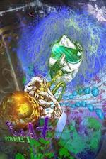 Jazz Musician Trumpet Player Journal