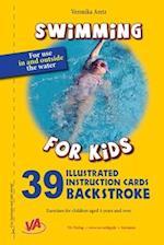 Backstroke - 39 Illustrated Instruction Cards