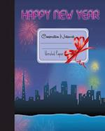 Primary Composition Book - Happy New Year
