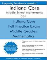 Indiana Core Middle School Mathematics 034