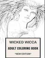 Wicked Wicca Adult Coloring Book