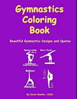 Gymnastics Coloring Book