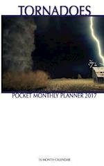 Tornadoes Pocket Monthly Planner 2017