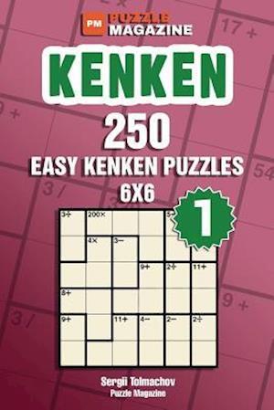 Bog, paperback Kenken - 250 Easy Puzzles 6x6 (Volume 1) af Sergii Tolmachov